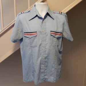 Other - French Airline Pilot Medium Dress Shirt
